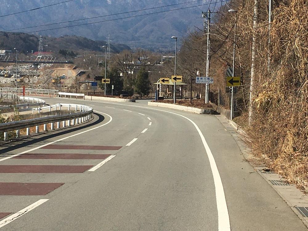 釜無川橋ポケットパーク